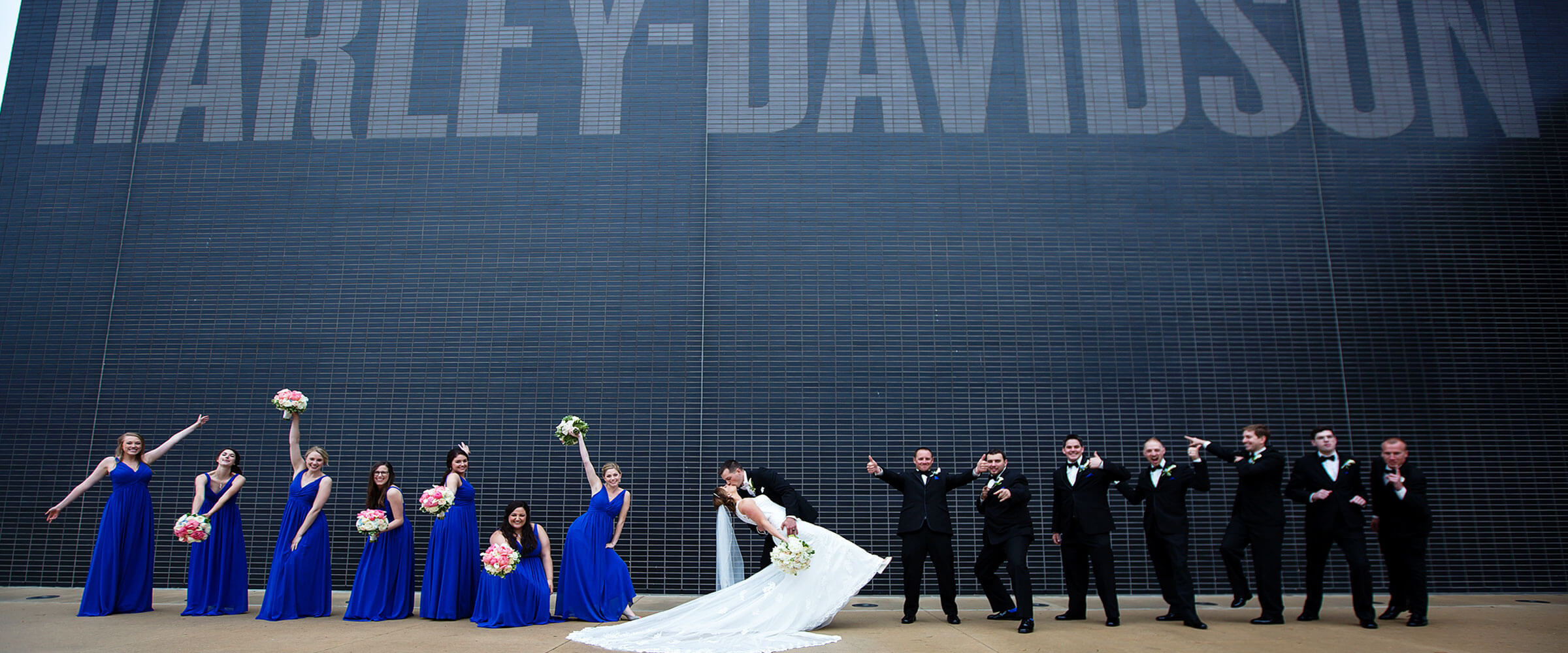 Weddings at 1903 Events, at the Harley Davidson Museum